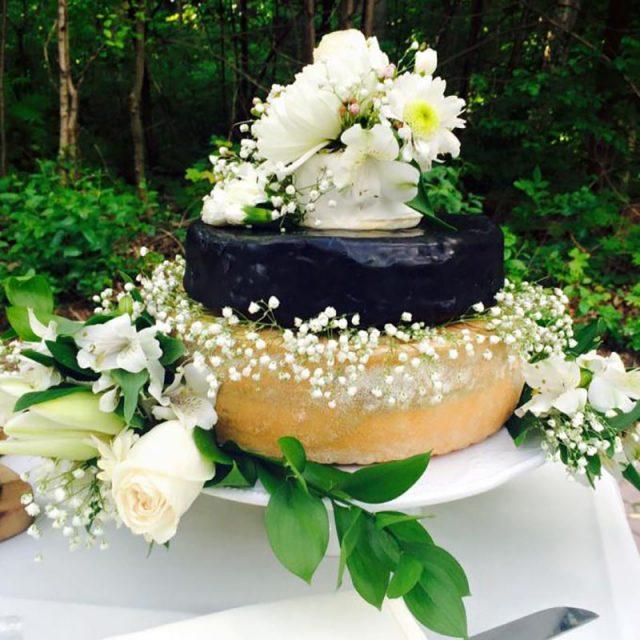 Cheese Wheel Wedding Cake | Everyday On Occasion