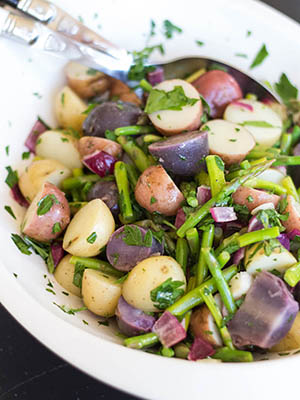 Asparagus Potato Salad | Allergy Girl Eats