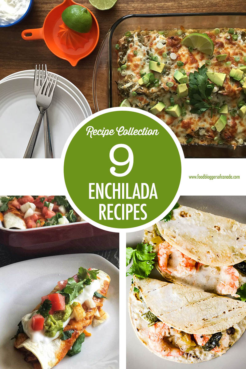 9 Enchilada Recipes | Food Bloggers of Canada