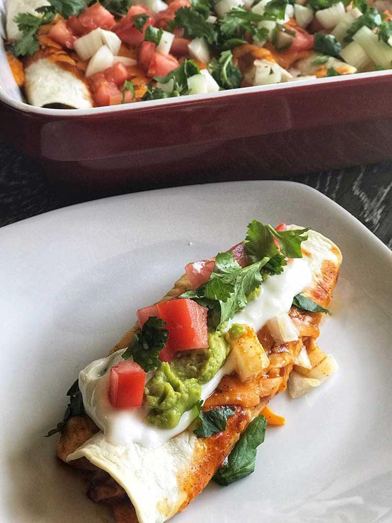 Chicken Enchiladas | Food Mamma