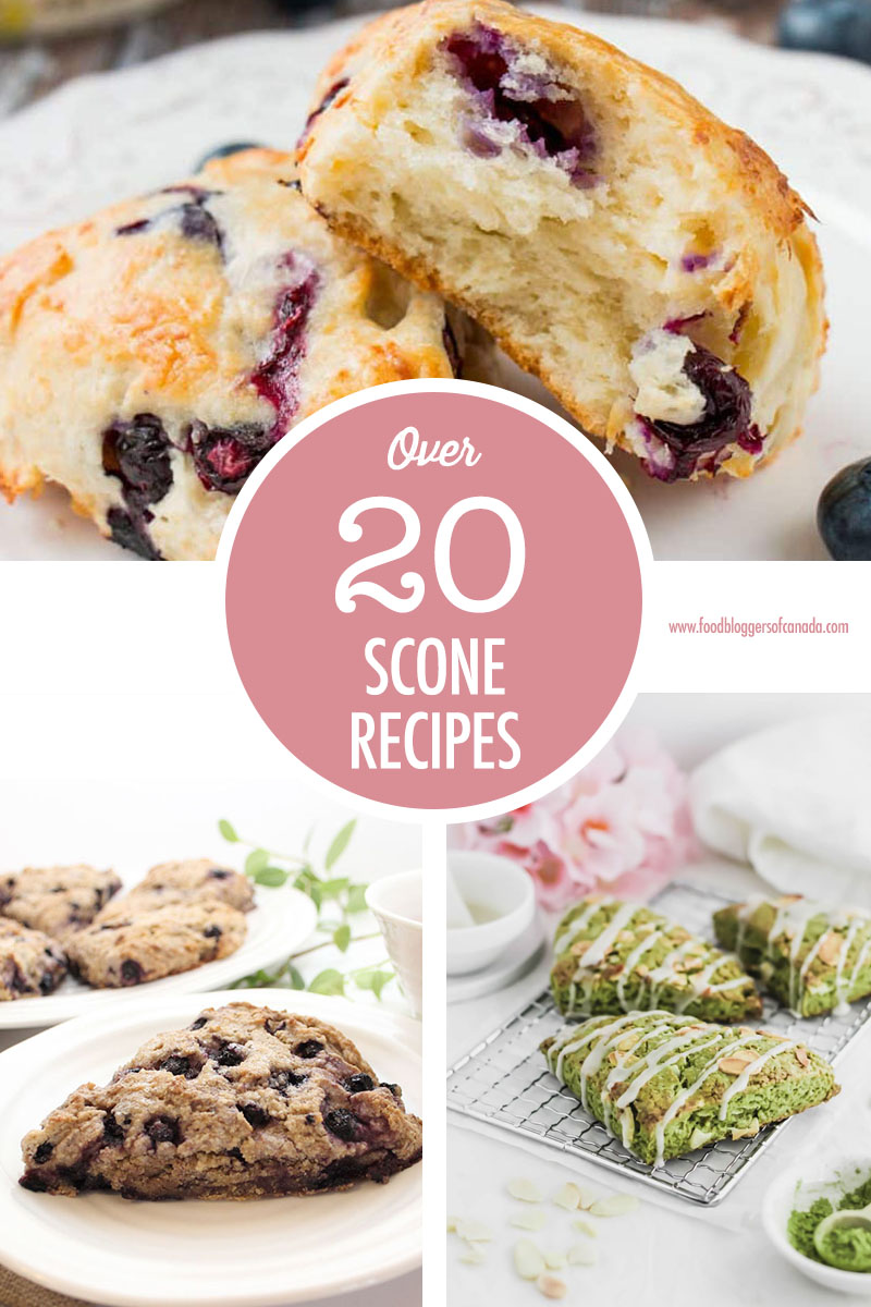 Over 20 Scone Recipes | Food Bloggers of Canada