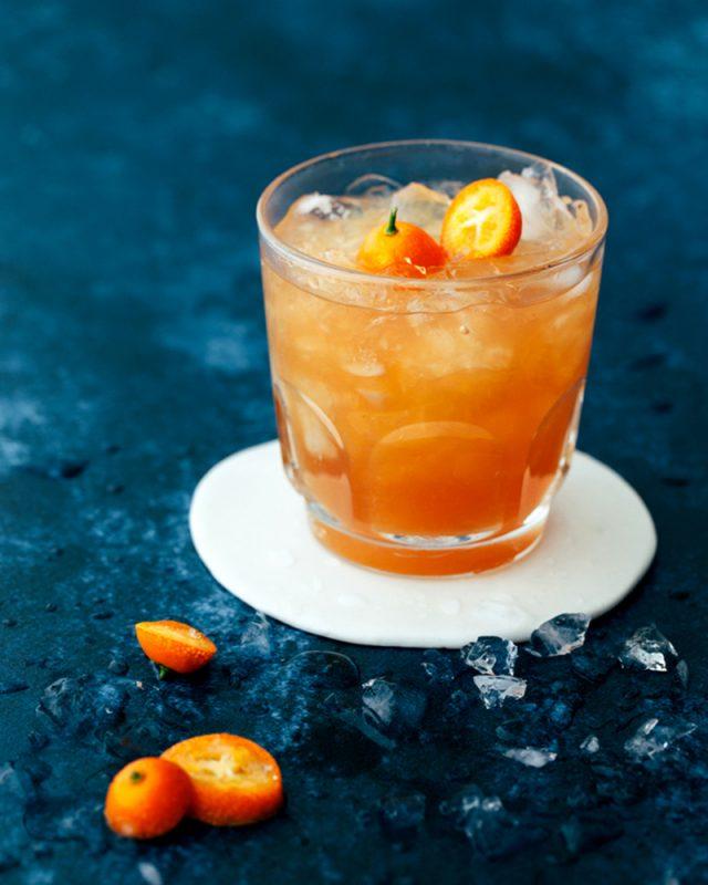 Earl Grey Grapefruit and Honey Mocktail | Kelly Neil
