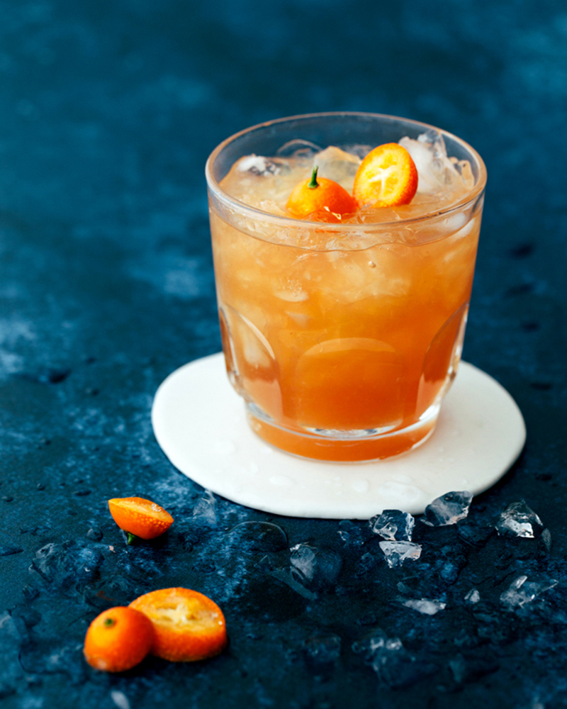 Earl Grey Grapefruit and Honey Mocktail | Kelly Neil