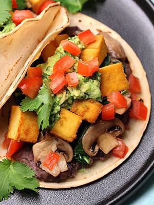 Vegan Tofu Breakfast Tacos   The Vegan Harvest