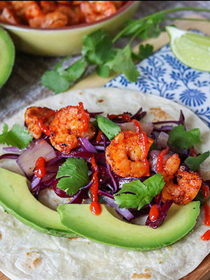 Easy Shrimp Tacos | Girl Heart Food