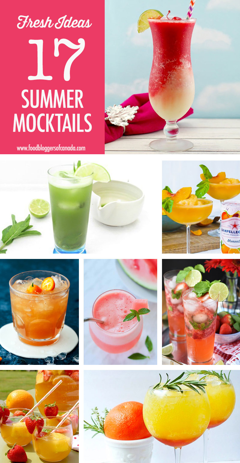 17 Summer Mocktail Recipes | Food Bloggers of Canada