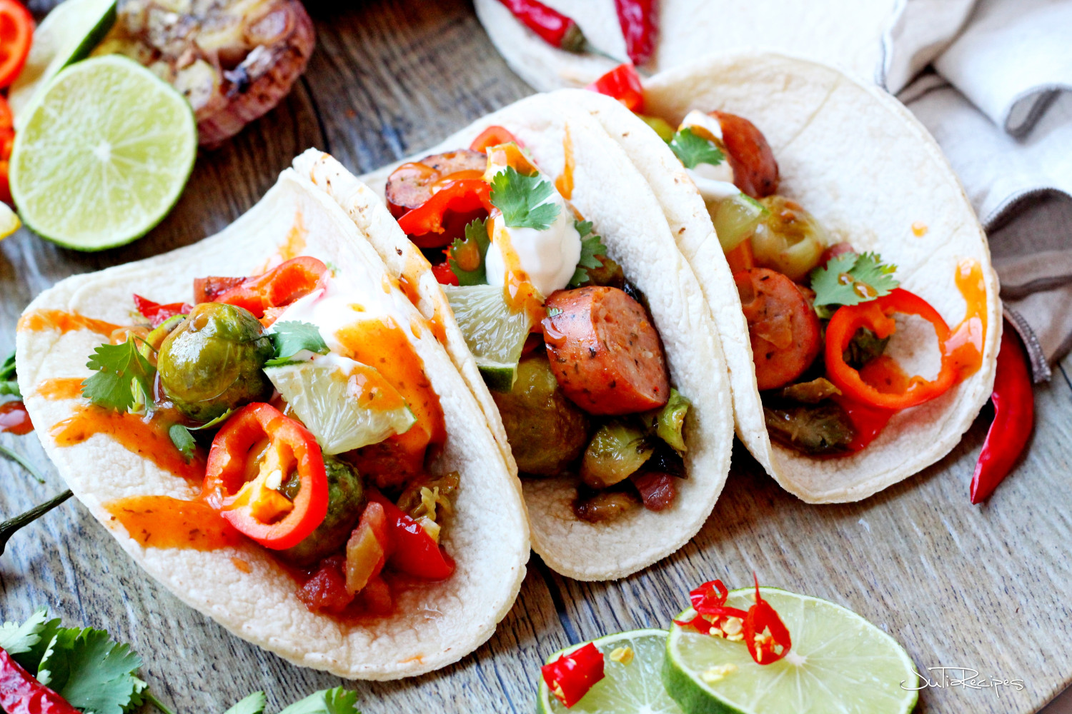 Tacos With Vitamin K | Julia's Recipes