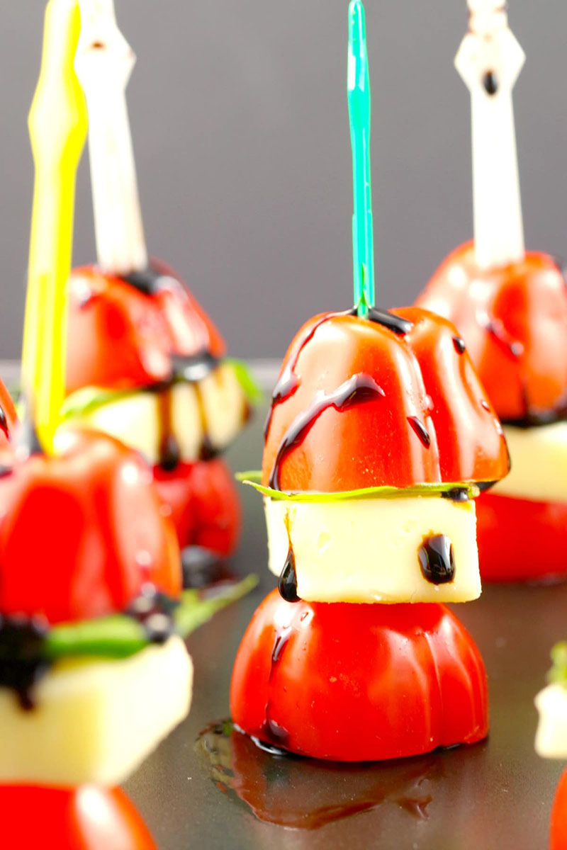 Caprese Salad Skewers | Food Meanderings