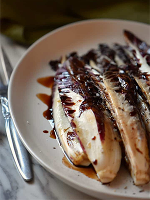 Grilled Radicchio | She Loves Biscotti