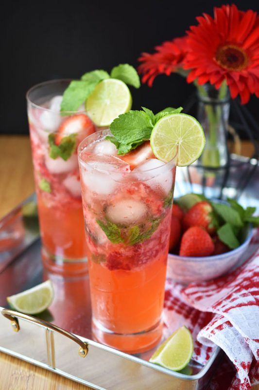 Strawberry No-Jito | Woman In Real Life