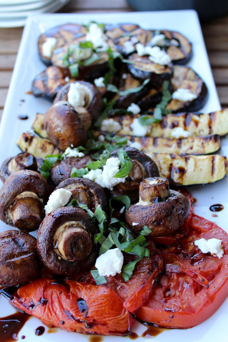 Grilled Vegetables With Every Balsamic Glaze by Insightful Bite