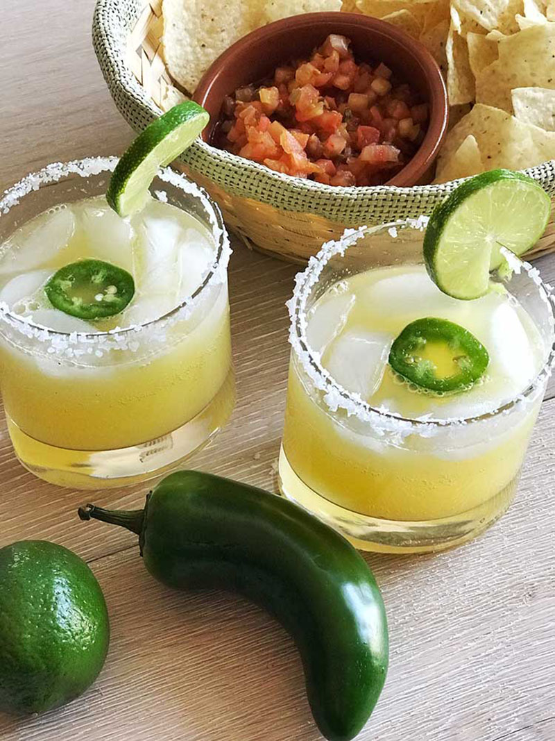 Jalapeno Margarita Mocktail | Food Mamma