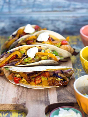Crispy Haddock Double Shelled Tacos | SugarLoveSpices