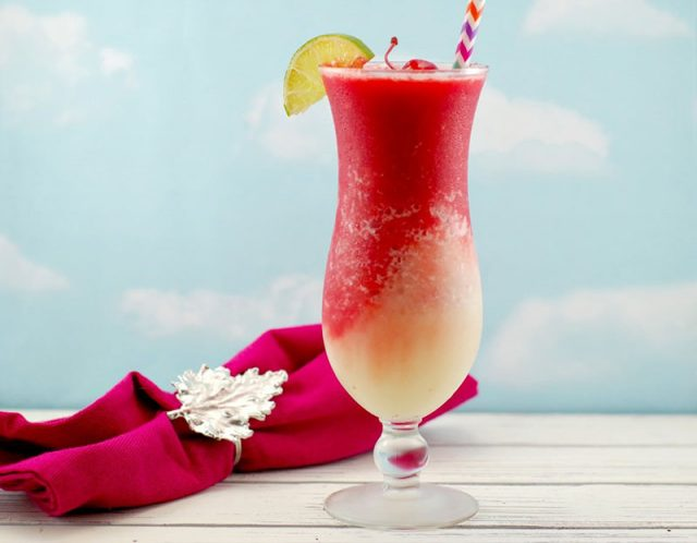 Miami Vice Mocktail | Food Meanderings