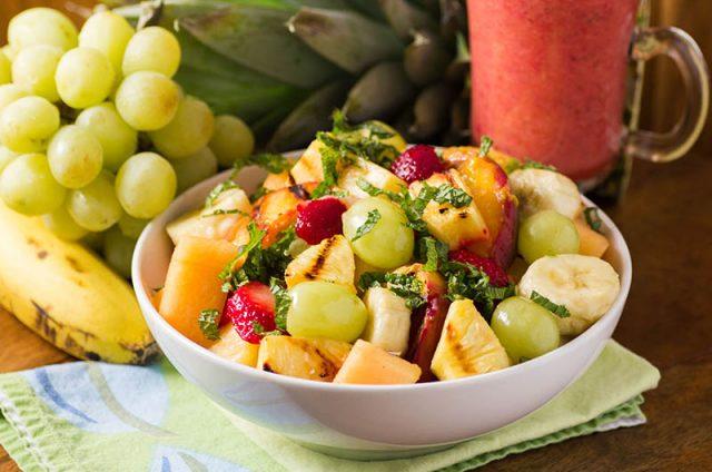Grilled Summer Fruit Salad | Half Your Plate