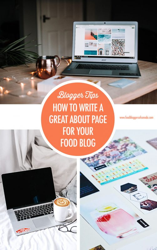 How to Write A Great About Page For Your Food Blog | Food Bloggers of Canada