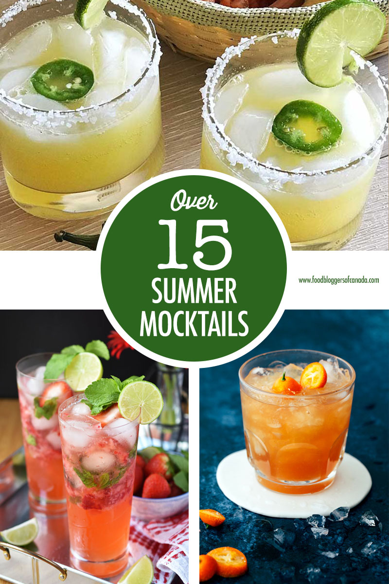 Over 15 Summer Mocktails Dark