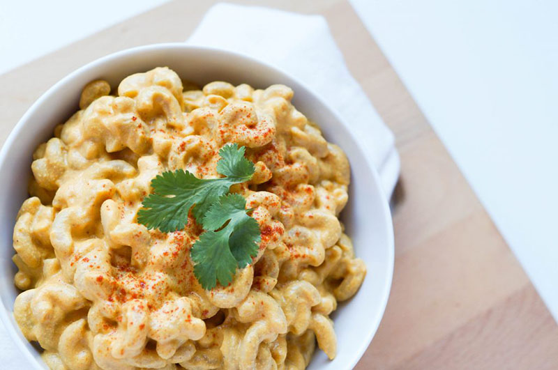Super Creamy Vegan Mac and Cheese | Balancing Andie