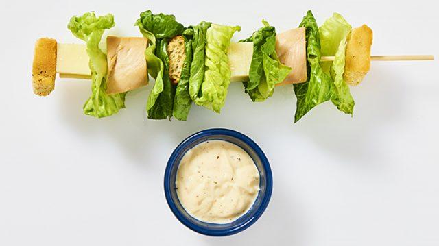 Caesar Salad On A Stick | Bite Me More