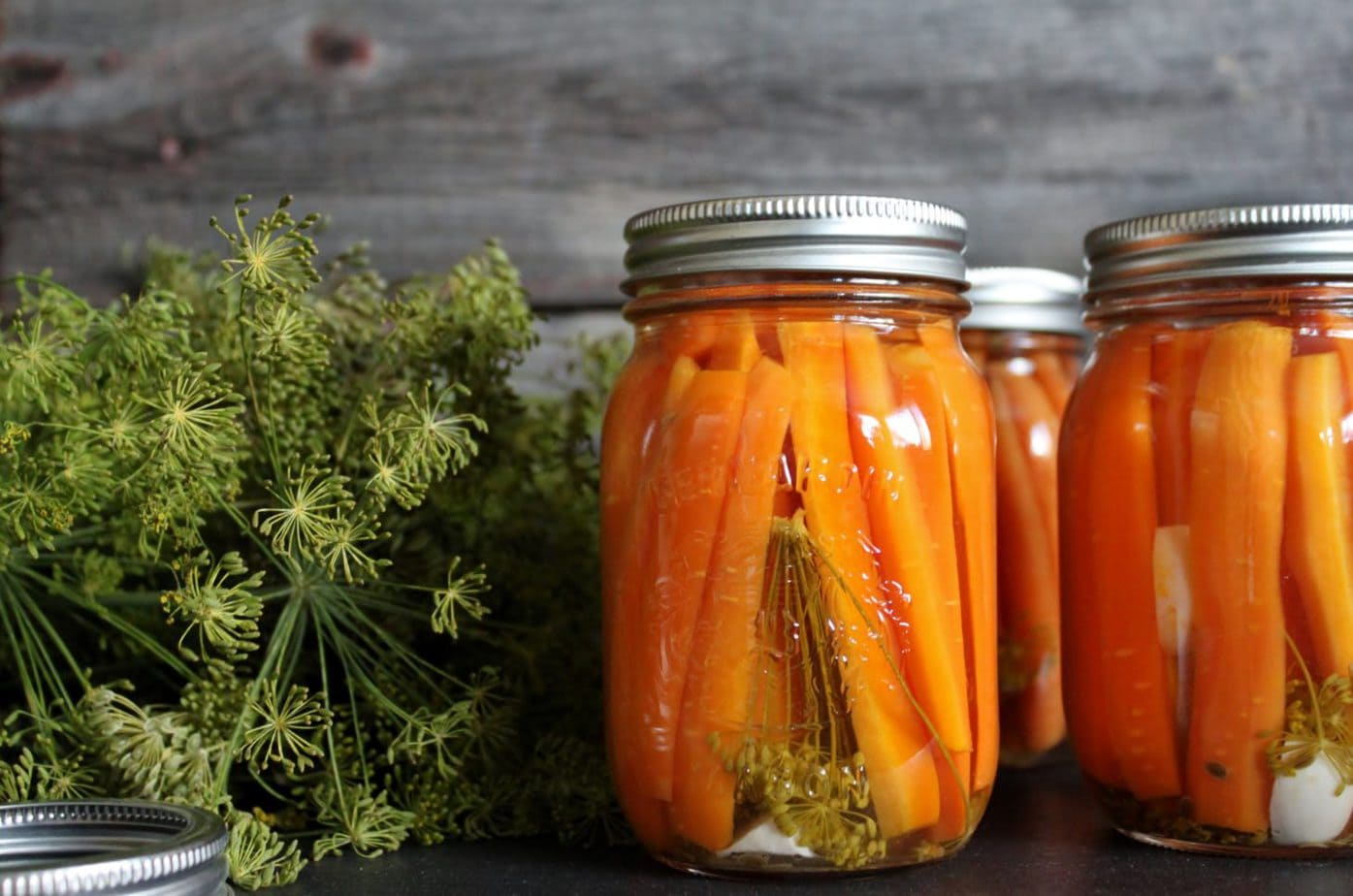 Pickles Carrots with Dill and Garlic | Dish n the Kitchen
