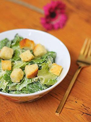 Easy Cheaters Caesar Salad Dressing | Kiku Corner