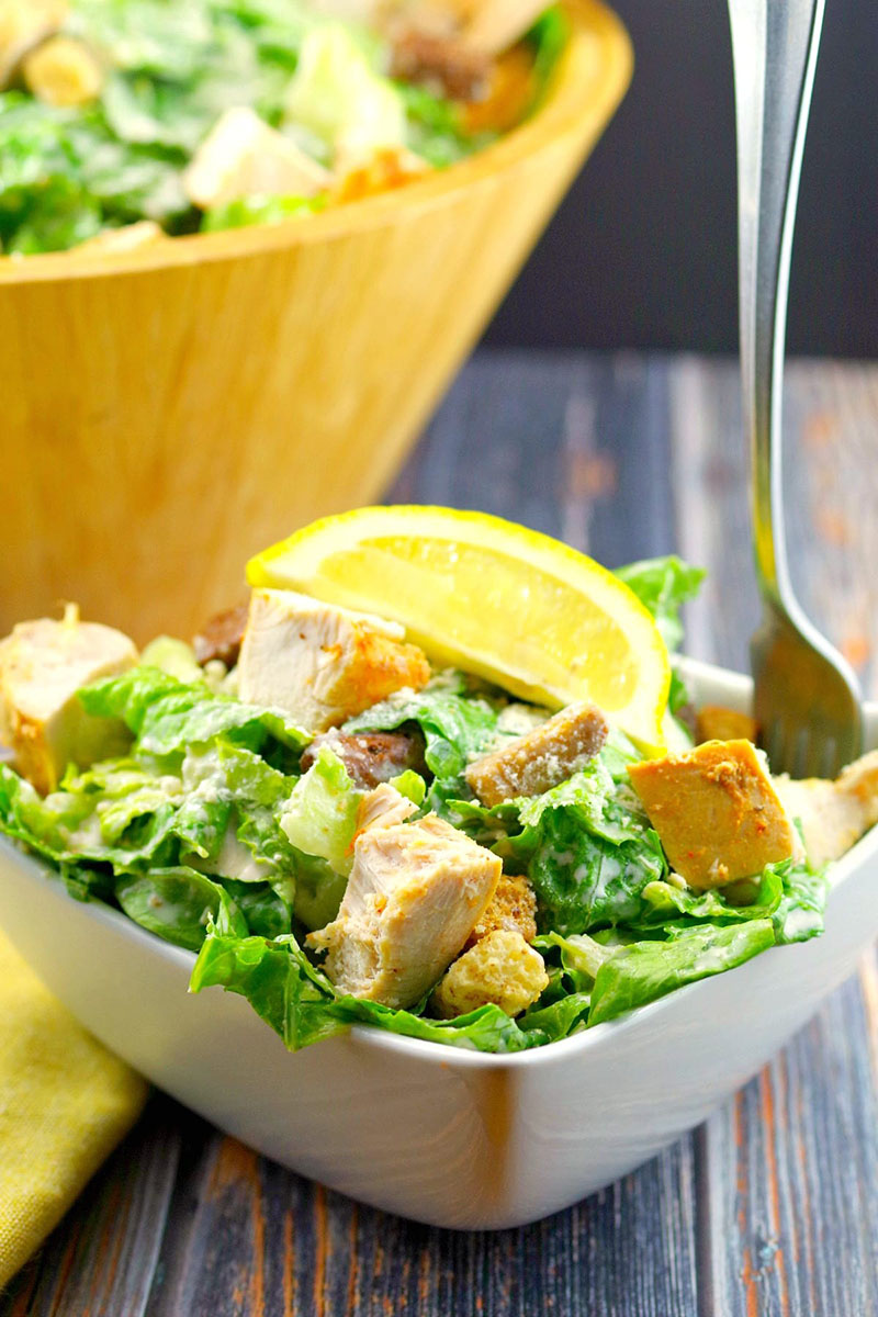 Grilled Chicken Caesar Salad | Food Meanderings
