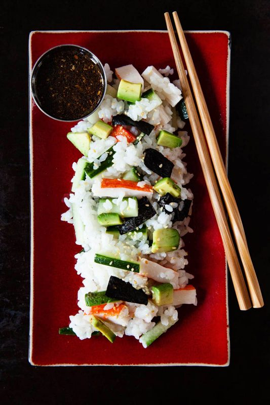 20 Minute Meal: California Roll Salad   Food Bloggers of Canada