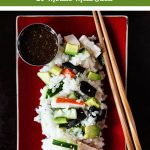 20 Minute Meal: California Roll Salad | Food Bloggers of Canada