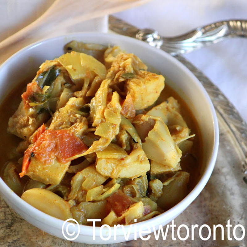 Green Jackfruit Curry | TorviewToronto