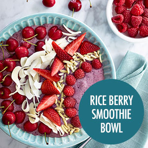 Rice Berry Smoothie Bowl