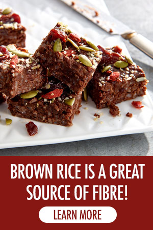 Brown Rice is a Great Source of Fire