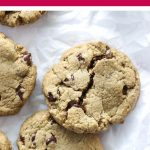 Sunflower Seed Butter Chocolate Chip Cookies | Food Bloggers of Canada
