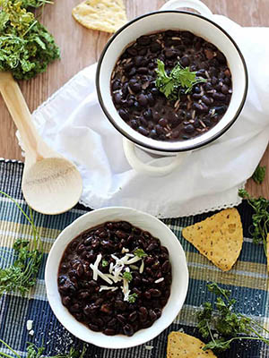 Slow Cooker Black Bean | Simply Stacie
