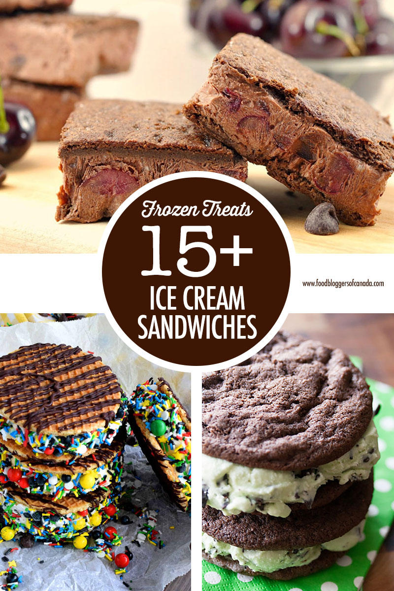15 Ice Cream Sandwiches | Food Bloggers of Canada