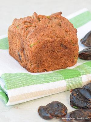 Gluten Free Zucchini Date Muffins | My Island Bistro Kitchen