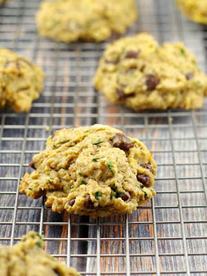 Chocolate Chip Spinach Cookies | Food Meanderings