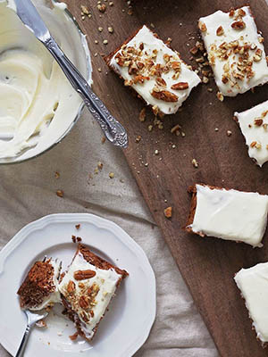 Gluten-Free Carrot Cake with Cream Cheese Frosting | The Best of This Life