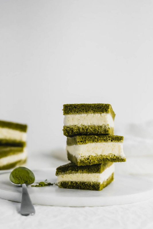 Matcha Ice Cream Sandwiches | Sift & Simmer