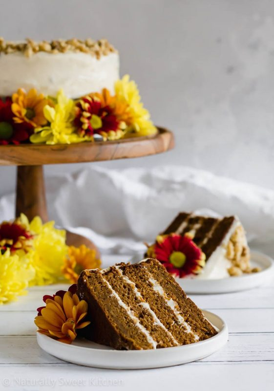 Refined Sugar Free Carrot Cake | Naturally Sweet Kitchen