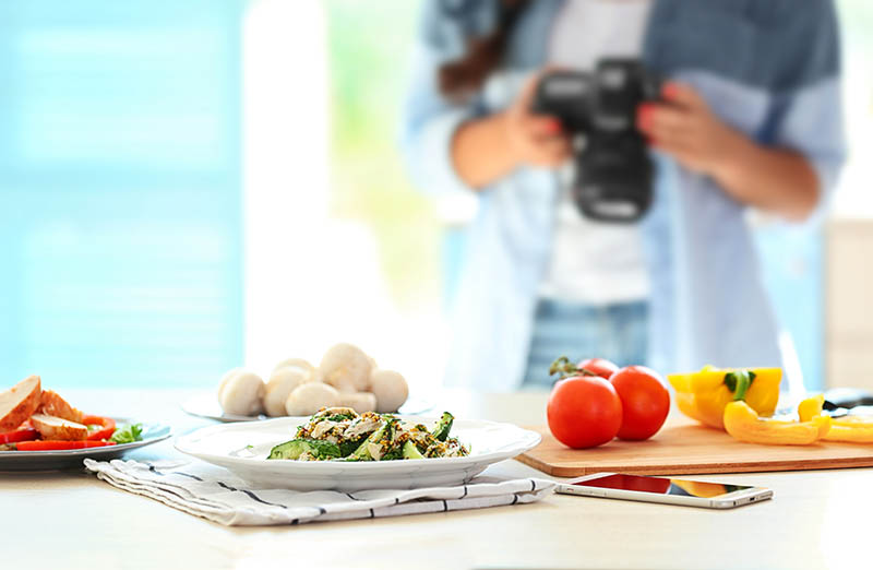 Making Money With Stock Food Photography