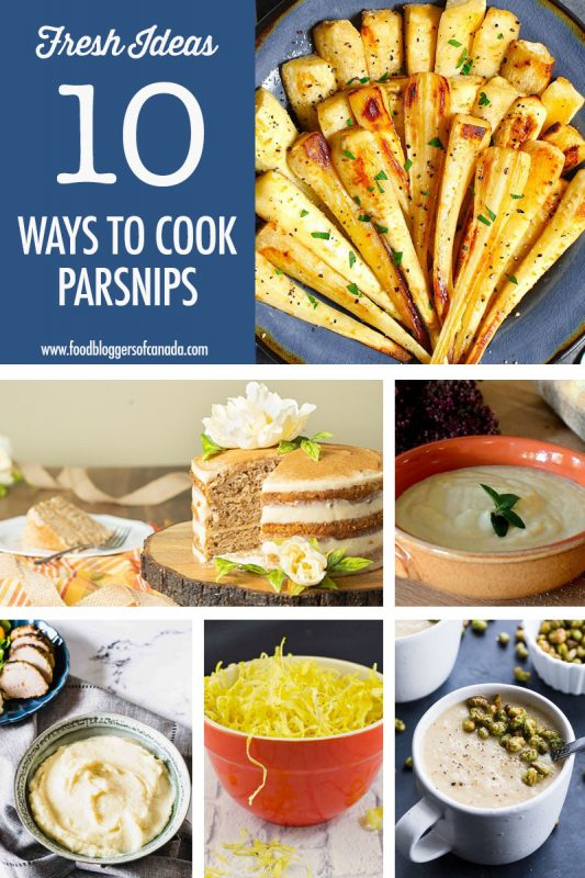 10 Parsnip Recipe Ideas | Food Bloggers of Canada