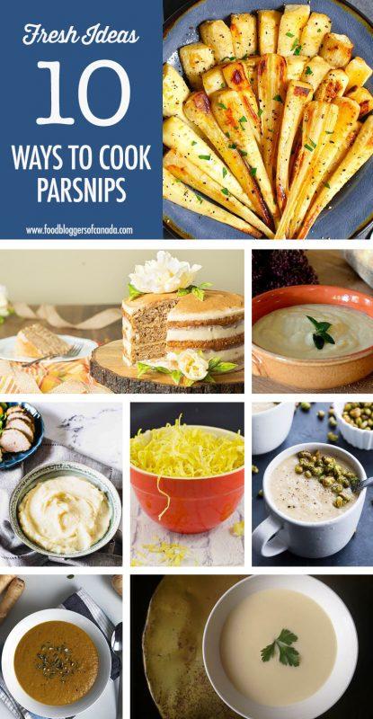 10 Parsnip Recipe Ideas | Food Bloggers of Canada