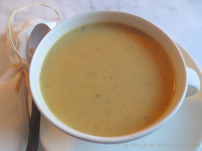 Creamy Parsnip and Sweet Potato Soup   Urban Cottage Life