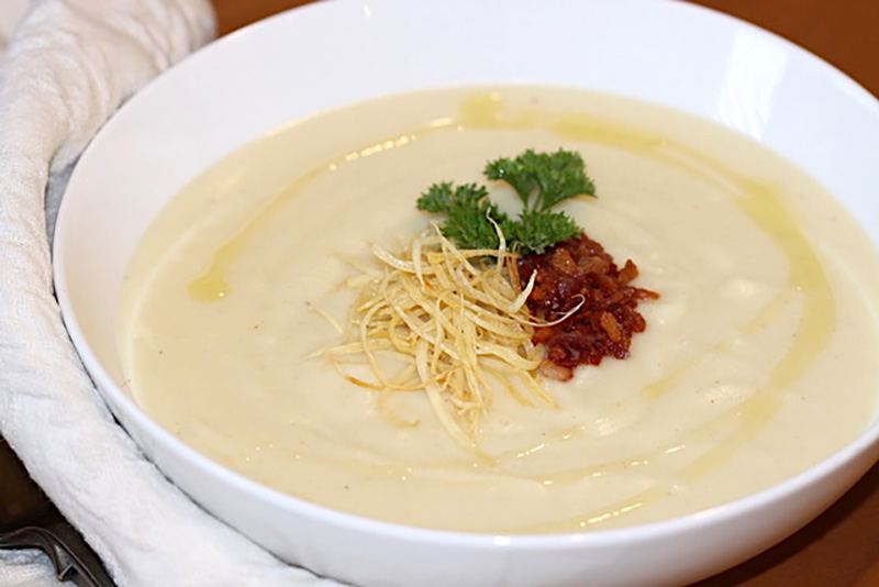 Creamy Parsnip and Potato Soup | Urb'n'Spice