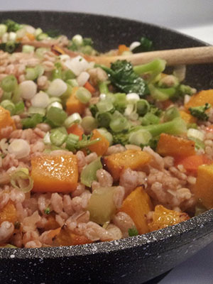 Farro Salad   The Nutritionnaire
