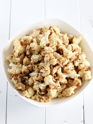 Oven Roasted Cauliflower | Whipped It Up