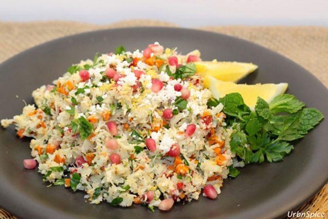 Cauliflower Tabbouleh | Urb'n'Spice