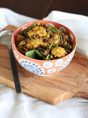 Lentil Cauliflower Curry | Urban Cottage Life