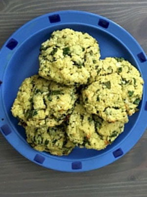 Paleo Cilantro Lime Califlower Biscuits   Nourished by Caitlin Iles