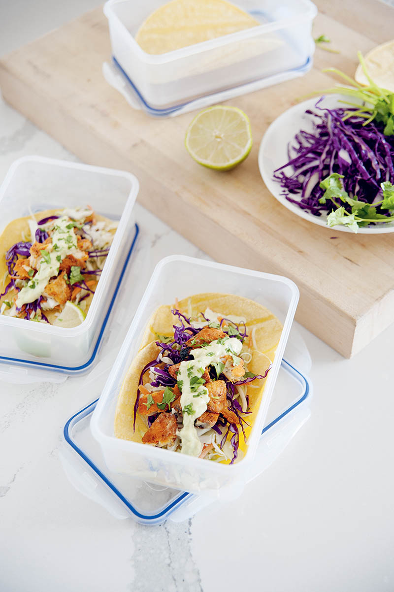 Colorful Fish Tacos